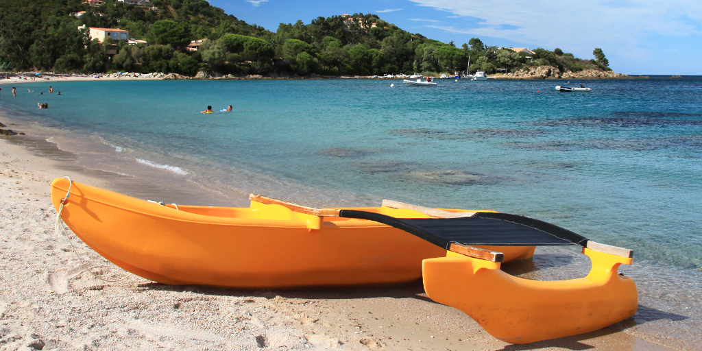 location kayak corse